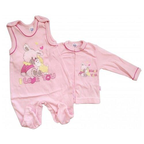 Комплект одежды Aga размер 56 розовый.