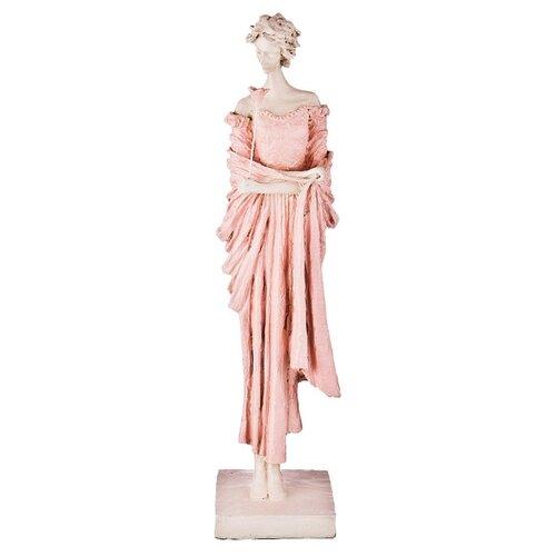 Фото - Статуэтка Lefard Пастель, 48 см белый/розовый статуэтка lefard балерина 699 157 18 см белый серебристый