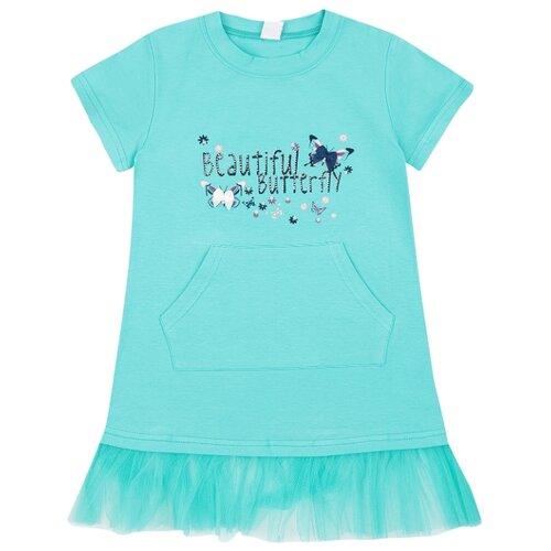Купить Платье Fun time размер 122, голубой, Платья и сарафаны