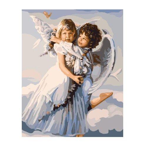 ВанГогВоМне Картина по номерам Ангелочки, 40х50 см (ZX 2146) картина по номерам вангогвомне рыцарский замок