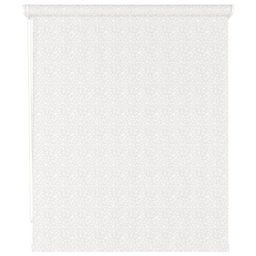 Рулонная штора DDA Pois (белый), 80х170 см матрасы 80х170 см