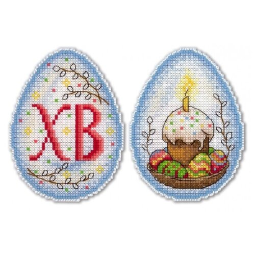 Жар-птица Набор для вышивания Пасхальное настроение 11 x 8 см (Р-164) жар птица набор для вышивания арбузное счастье 16 х 12 см м 222