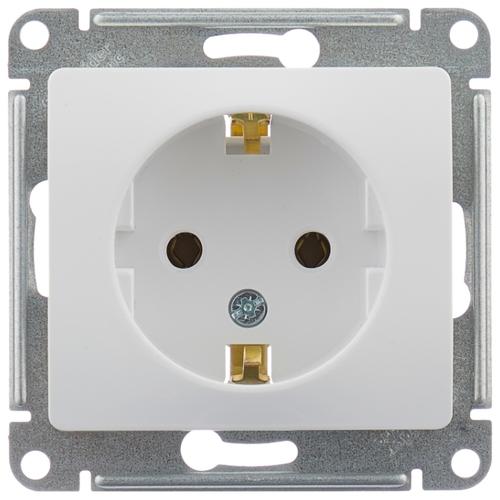Стоит ли покупать Розетка Schneider Electric GLOSSA GSL000143,16А, с заземлением, белый? Отзывы на Яндекс.Маркете