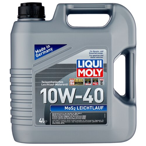 цена на Моторное масло LIQUI MOLY MoS2 Leichtlauf 10W-40 4 л