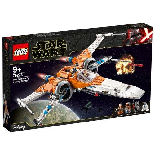 Купить Конструктор LEGO Star Wars 75273 Episode IX Истребитель типа Х По Дамерона, Конструкторы