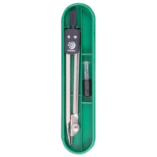 Купить Globus Набор чертежный 2 предмета (НЧ2-20-20) серебристый/черный, Чертежные инструменты