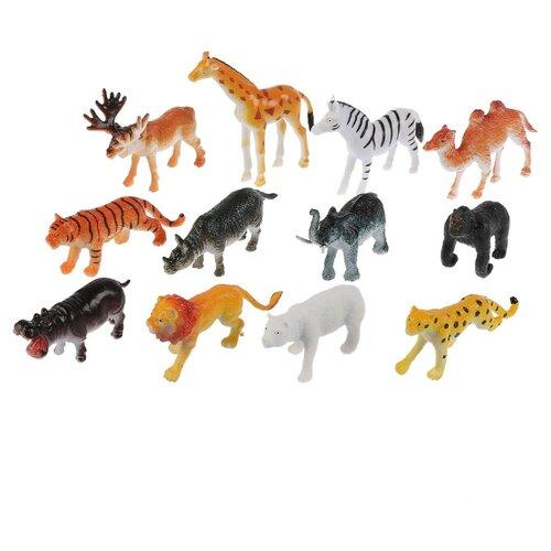 Фото - Фигурки TONG DE Удивительный мир животных Дикие животные T489-D4697 дикие животные мира мир домашних животных комплект из 2 книг