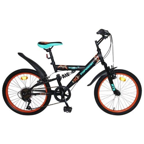 Подростковый горный (MTB) велосипед Top Gear Boxer (BH20205) черный 11