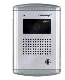 Вызывная (звонковая) панель на дверь COMMAX DRC-4CAC серебро