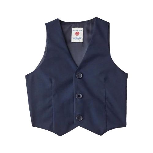Жилет Button Blue размер 122, синий