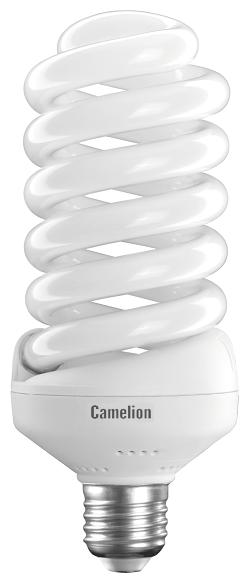 Лампочка Camelion 10407, Холодный свет, E27, 45 Вт, Люминесцентная (энергосберегающая)