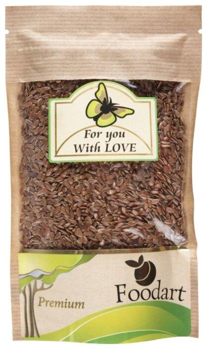 Семена льна Foodart сушеные Premium 120 г