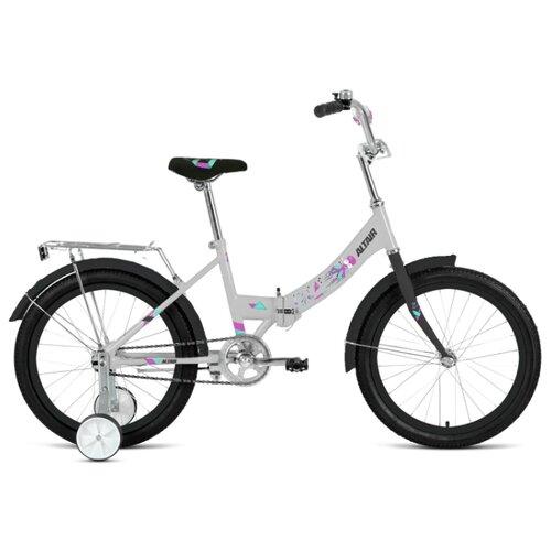 цена на Детский велосипед ALTAIR City Kids 20 Compact (2020) белый 13