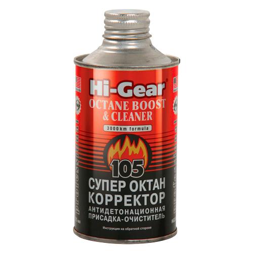 Hi-Gear HG3306 Супероктан-корректор Octane Boost & Cleaner 0.325 л супероктан корректор hi gear hg 3306