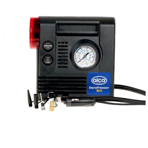 Автомобильный компрессор ALCA 233000 черный