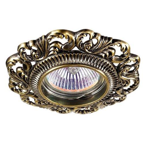 Встраиваемый светильник Novotech Vintage 370024 встраиваемый светильник novotech vintage 369943