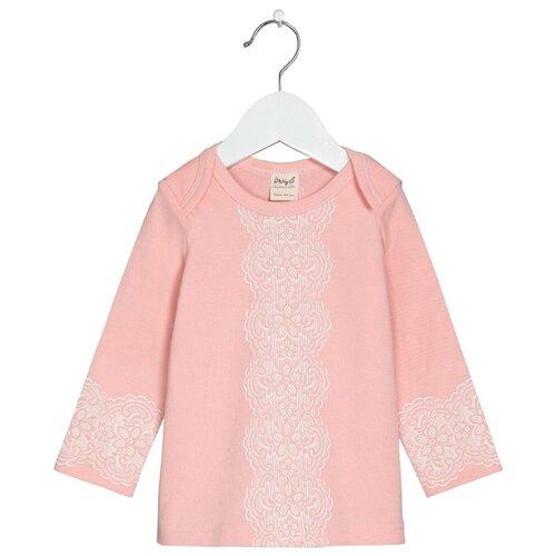 Купить Лонгслив ЁМАЁ размер 80, розовый, Футболки и рубашки
