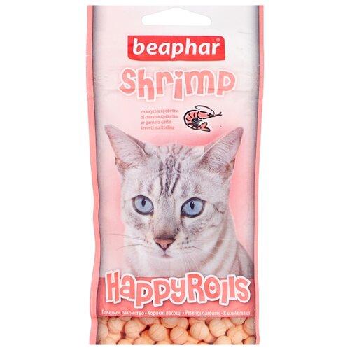 Лакомство для кошек Beaphar Happy Rolls Shrimp, 80шт. в уп.