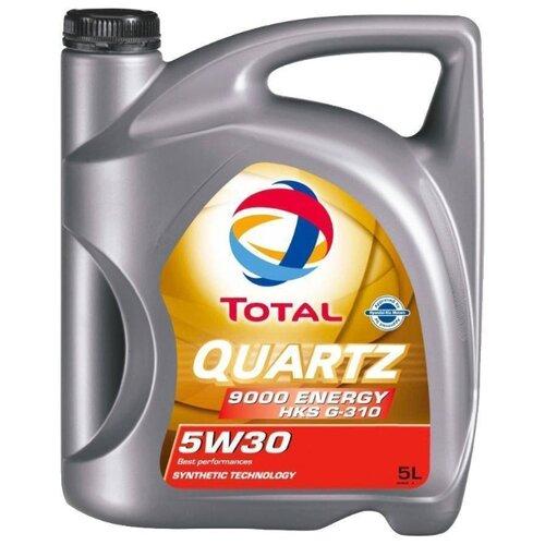 Моторное масло TOTAL Quartz 9000 Energy HKS G-310 5W30 5 л