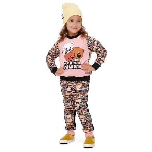 Свитшот lucky child размер 28 (92-98), розовый худи lucky child размер 28 92 98 фиолетовый