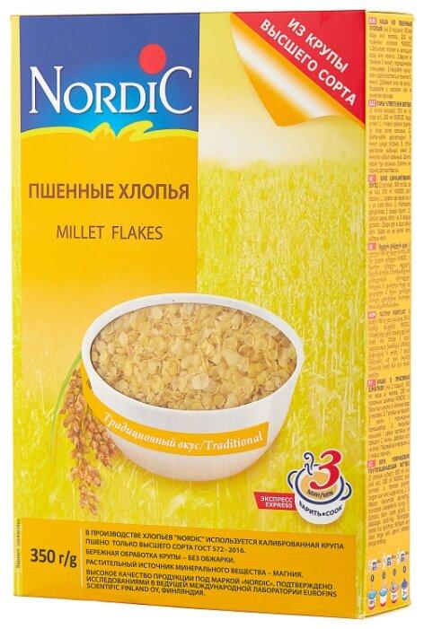 Купить Nordic Хлопья пшенные, 350 г по низкой цене с доставкой из Яндекс.Маркета