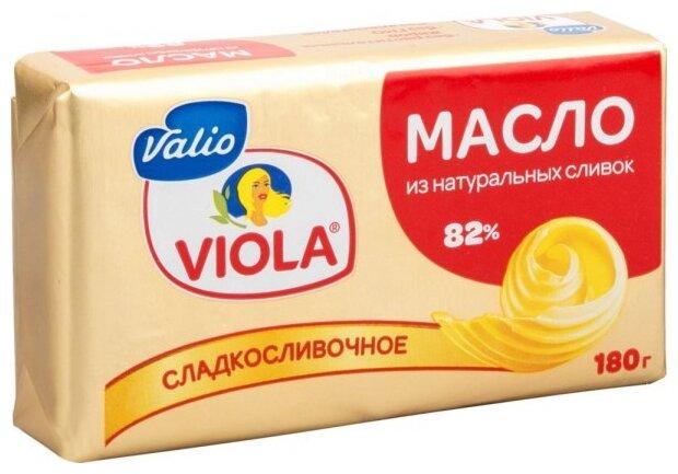 Viola Масло сладкосливочное 82%, 180 г