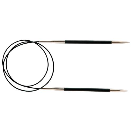 Купить Спицы Knit Pro Karbonz 41169, диаметр 4.5 мм, длина 60 см, черный