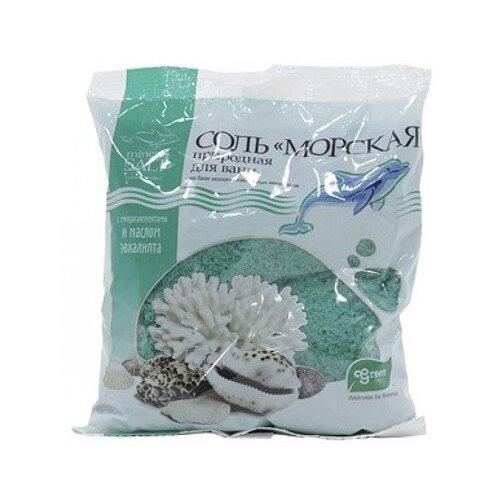 ГринПром Соль морская природная с Экстрактом Эвкалипта, 1 кг
