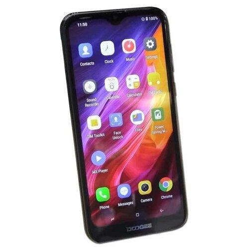 Смартфон DOOGEE X90L 32GB черный смартфон doogee x11 1 8gb черный