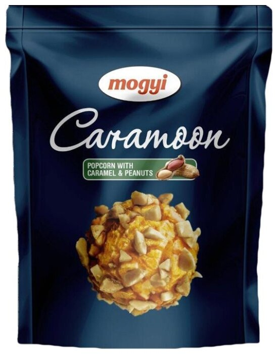 Попкорн Mogyi Caramoon карамель, арахис готовый, 70 г