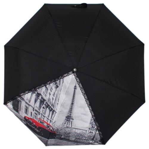 Зонт автомат FLIORAJ 20105 FJ черный рюкзак женский flioraj цвет черный 00058058