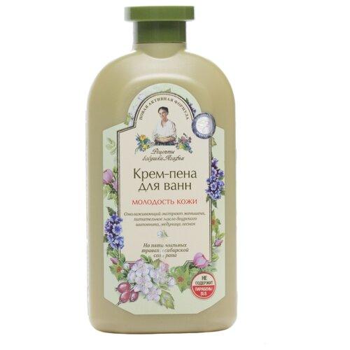 Купить Рецепты бабушки Агафьи Крем-пена для ванн Молодость кожи, 500 мл