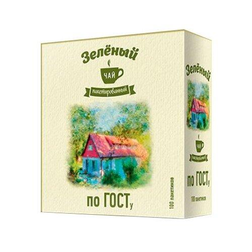 Фото - Чай зеленый Императорский чай мелкий в пакетиках, 150 г 100 шт. чай в пакетиках фиточаи байкальские женский лечебный с боровой маткой 20 шт по 1 5 г