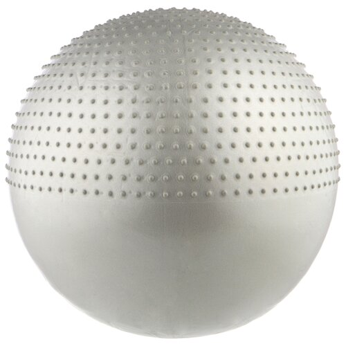 Фитбол Indigo IN003, 75 см серый металлик