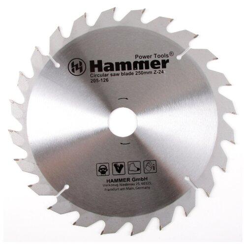 Пильный диск Hammer Flex 205-126 CSB WD 250х32 мм диск пильный твердосплавный hammer ф160х30мм 36зуб