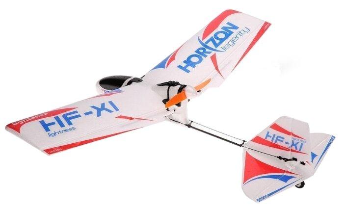 Самолет Fei Lun Horizon Legerity HF-X1 50 см белый фото 1