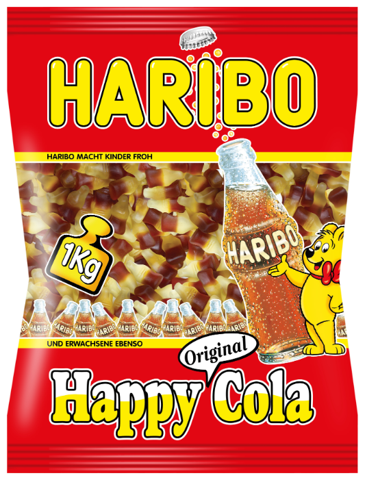 Мармелад Haribo Happy Cola 1000 г