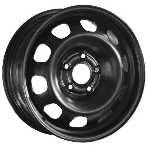 Колесный диск Magnetto Wheels 16003 6.5x16/5x114.3 D66.1 ET50 Black колесный диск magnetto wheels 16012 6 5x16 5x114 3 d60 1 et45 black