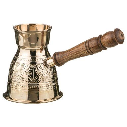 Турка Lefard Graving (400 мл), золотистый/коричневый сахарница lefard 400 мл 756158