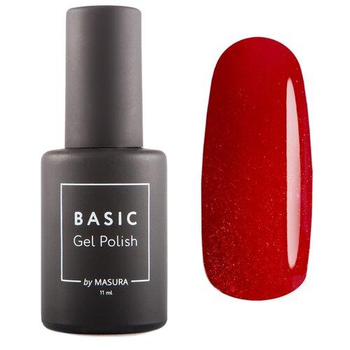 Купить Гель-лак для ногтей Masura Basic, 11 мл, Любимый Алый