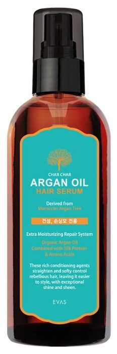 EVAS Сыворотка для волос аргановая Argan