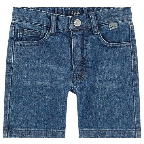 Шорты Il Gufo размер 110, синий брюки il gufo размер 110 синий