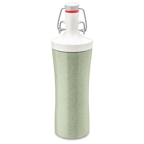Фото - Бутылка для воды PLOPP TO GO Organic 425 мл зеленая бутылка для воды koziol plopp to go organic 0 42 пластик синий