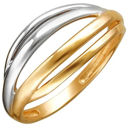 Эстет Кольцо из красного золота 01К0112186Р, размер 16.5 ЭСТЕТ