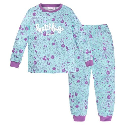 Пижама Bossa Nova размер 86-92, голубой