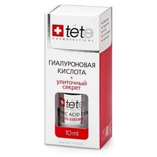 цена TETe Cosmeceutical Hyaluronic Acid + Snail Extract средство для лица Гиалуроновая кислота с улиточным секретом, 10 мл онлайн в 2017 году