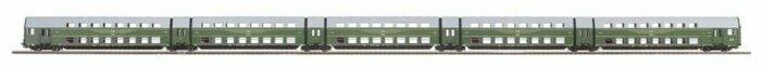 PIKO Пассажирские вагоны DBgqe, серия Classic-Professional, 53120, H0 (1:87)