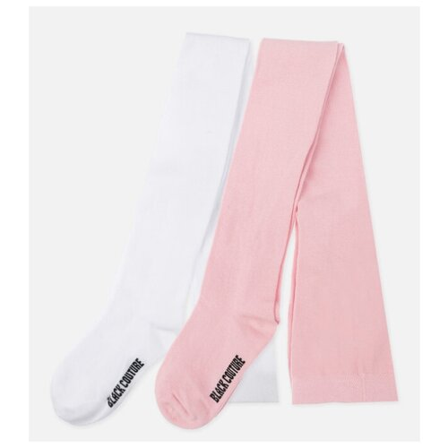 Колготки playToday 120221054 размер 22, белый/светло-розовый колготки playtoday размер 22 белый