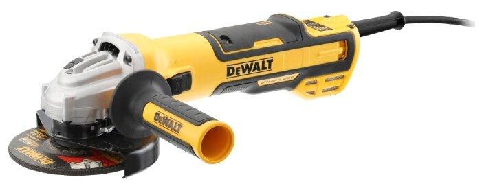 УШМ DeWALT DWE4357-QS, 1700 Вт, 125 мм