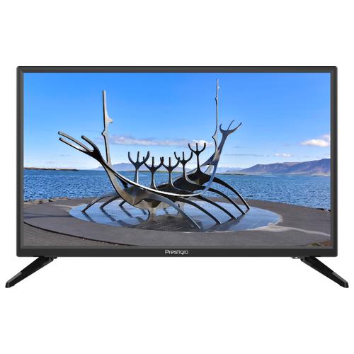 Телевизор Prestigio 24 Mate 24 (2019) черный телевизор hitachi 24he1000r 24 2019 черный
